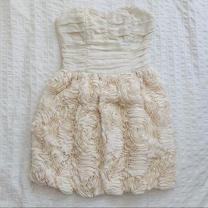 H&M Garden Collection Strapless Floral Dress